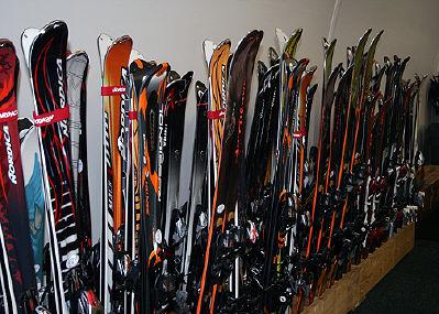 Demo Skis at Bristol Mountain Summit Center