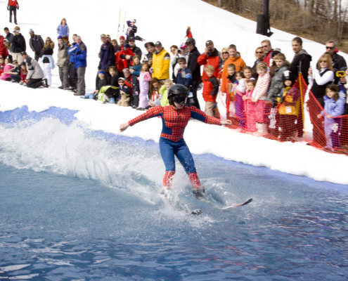 Slush Cup at Bristol Mountain