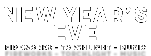 New Year's Eve - Fireworks - Torchlight - Music