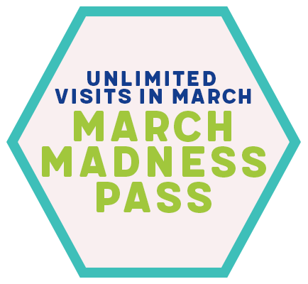 Unlimited Visits In March - March Madness Pass