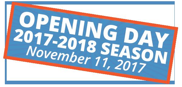 Opening Day 2017-2018 Season November 11, 2017