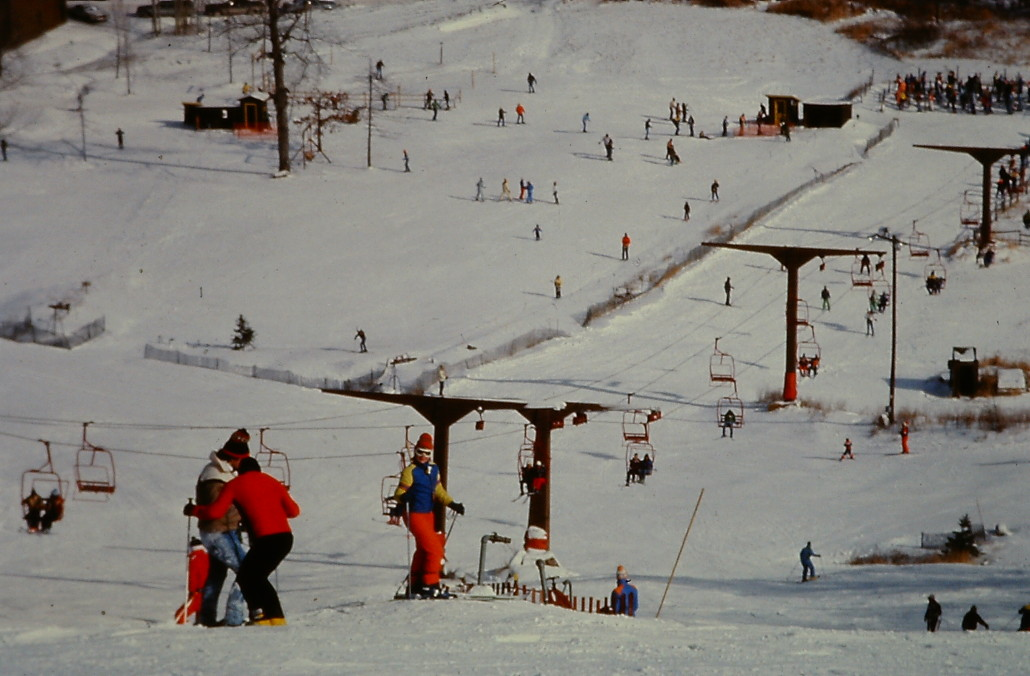 Historical picture of Bristol Mountain
