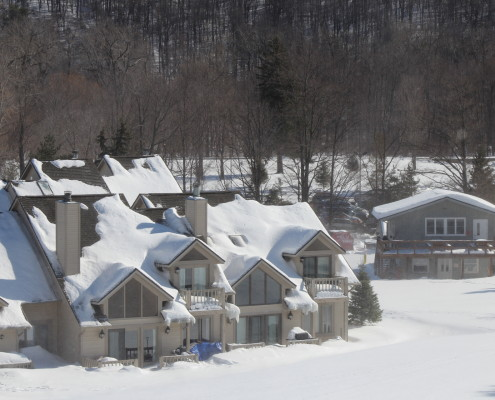 Slopeside Lodging at Bristol Mountain