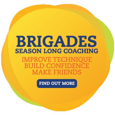 Brigades - Season Long Coaching - Improve Technique - Build Confidence - Make Friends - Find Out More