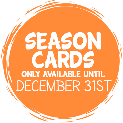 Season Cards Only Available Until December 31st